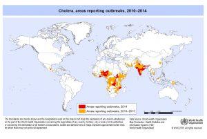 コレラの発生状況