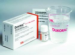 コレラワクチン Dukoral